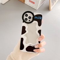 Milk pattern phone cases for iphone13 pro max 12 11 X XR XS 7 8 plus case cover