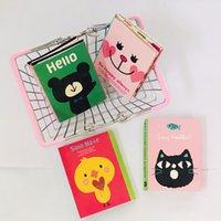 Kawaii 4 dobrável Memo Pad 1 PC Notas Pegajosas Notepad Bookmark Presente Papelaria Bonito Adesivo 194 S2