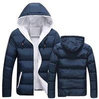 Men's hooded Down & Parkas jacket European casual mens coat Women Men Waterproof Oversized Useful Raincoat Hiphop Windbreaker
