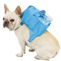 Dog Car Seat Covers Adjustable Bag Travel Snack Multi-Pocket Strap Pet Outdoor Self-Service Backpack Teddy