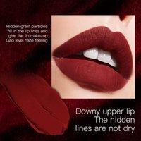 Lip Gloss Velvet Matte Glaze Permanent Mud Sweatproof Non-stick Cup Lipstick Charming Beauty Makeup Cosmetic TSLM