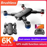 F6S Drone GPS 6K Profesional with Camera WIFI FPV RC Quadrocopter Drones Aerial Photography Brushless Power Dron Toy