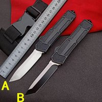 Micmt beetle Double Action Automatic knife Fast Open Out The Front Rocket LUDT Outdoor Self defense Hunting Camping Survival Auto Knives UT85 UT88 BM 3310 3400 9600