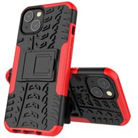 Dazzle 2 in 1 Kackstand ibrido Impatto Fatto robusto TPU TPU + PC Custodia impermeabile per iPhone 13 Pro Max 11 12 XS max 6 7 8 Plus 160pcs / lot