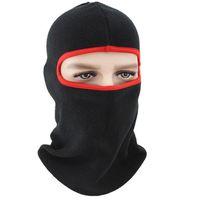 Cycling Caps & Masks Men Women Warm Cap Hats Balaclava Full Face Scarf Cover Thermal Fleece Hooded Neck Head Warmer Hiking Hat Helmet Liner