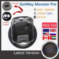 2020 NOUVEAU ORIGINAL GOTWAY MONSTER PRO Monycilcule 24 pouces 100V 3600Wh Pro Version Monster Self Self Scooter électrique