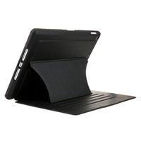 أسود أزياء شخصية الكمبيوتر اللوحي الحالات البساطة صدمات قوس حماية غطاء الأغطية الذكية مناسبة ل ipai