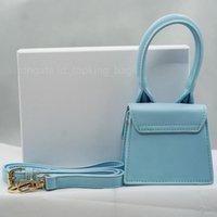 2021 Modedesigner Luxus Handtaschen für Frauen Casual Shopping Taschen Tote Hnadbag Jacquemus Bag 15 Farben Glattes und Krokodilleder