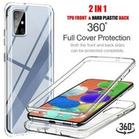 360° Silicone Clear Case Cover For Samsung Galaxy A32 A52 A42 5G A21s A12 Phones