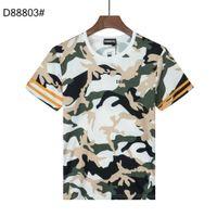DSQUARED2 DSQ PHANTOM TURTLE SS Mens Designer T shirt Italian fashion Tshirts Summer DSQ Pattern T-shirt Male High Quality 100% Cot HKM