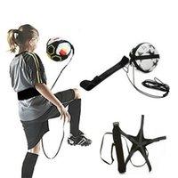 Футбольный мяч жонглировая сумки Детские вспомогательные Circl ремень детские футбольные тренировочные оборудование соло футбольный тренер футбольный удар жгучая сумка 87 w2