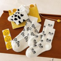 Socks & Hosiery Women Cotton Panda Cartoon Sock Woman Colorful Unisex High Funny Novelty Ladies Sox Spring Winter Female Trendy Calcetines