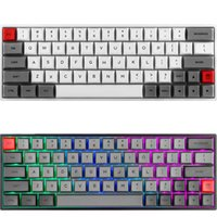 Skyloong SK64 Горячая замена механической клавиатуры с RGB Backlit Беспроводной Bluetooth Gaming ABS Keycaps для Win / Mac GK64