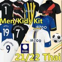 2021 2022 EvERtoN Fußball Trikots # 19 James # 7 Richarlison Kean Davies Calvert-Lewin Sigurdsson Fußball-Shirt Digne Doucoure Männer Kinder Kits Unifrom 21/22