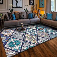 Carpets Persian Styles 3D Art For Living Room Bedroom Large Rug Non-slip Outdoor Parlor Kitchen Floor Mats Home Decor Area Rugs