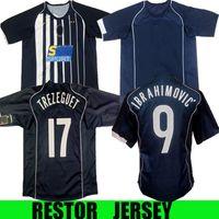 2004 2005 versione retrò Soccer Jersey Star del Piero 10 # inzaghi 9 # Nedved11 davids2004 2005 camicia da calcio retrò a casa lontano 2004 2005