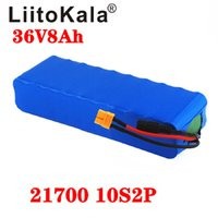 Liitokala 36V 8AH 21700 4000 мАч 10S2P Электрический велосипедный аккумулятор для электрического велосипеда Скутер 36 В ebike аккумулятор XT60