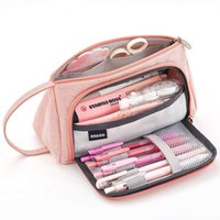Large Capacity Pencil Case School Students Stationery Pen Storage Bag Supplies Pen Box Pencil Cases Office Stationary Supplies