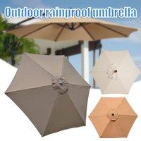 텐트 및 피난처 야외 우산 교체 방수 UV 보호 천 수영 해변 정원 안뜰 안뜰에 적합