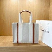 2021 봄과 가을 새로운 여성 가방 캔버스 편지 유명한 패션 브랜드 디자이너 럭셔리 새로운 핸드백 크로스 바디 메신저 가방