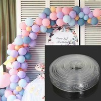 Party Decoration 5M lot Convenient Accessories Balloon Chain 160Holes Wedding Birthday Balloons Backdrop Decor Seal
