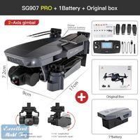 SG907 PRO 4K-DH Dual-Kamera 5G FPV-Drohne, 50x Zoom, 2-Achsen-Gimbal-Anti-Shake, bürstenloser Motor, GPS-Lichtstromposition, Smart Follow, 3-2