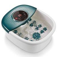 Fußbad mit Blase und Vibration, Wasserpediküre Fuß Badewanne mit Hitze für Home Foot Relax
