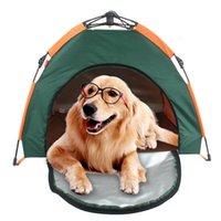 Casas portáteis do cão das cercas do cão das cercas do cão para cães Filhote de cachorro interior dobrável Cachas de estimação Cerca impermeável
