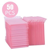 Packing Bags 50pcs Bubble Mailers Pink Poly Mailer Self Seal Padded Envelopes Gift For Book Magazine Lined