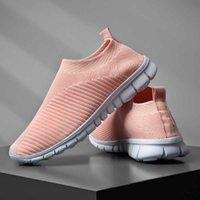Fetchmous Пара Беговые Обувь Дышащие наружные Мужчины Женщины Спортивные Обувь Легкие кроссовки Удобные Спортивные Носки Обувь Q0728
