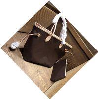 Frauen Handtaschen Tote Presbyopia Checkerboard Zwei-in-One-Handtasche + Geldbörsen Großkapazitätseinkaufen