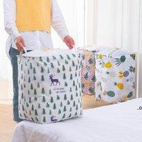 Lagerkorb für schmutzige Kleidung Haushaltsschachtel Spielzeug Eimer Stoff Falten mit Strahl Mund Wäscherei Aufbewahrungskörbe FWB9123