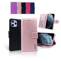 Hanman-Mühle-Brieftasche PU-Flip-Leder-Stand-Fälle für Redmi-Anmerkung 8 9 10 10x Note9 Note10 K40 POCO X3 M3 F3 Xiaomi 10T 11 Lite Ultra mit Einzelhandelspaket
