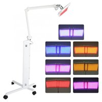Professional 7 Colors PDT LED Light Facial Mask Skin Care Photon Therapy Machine Facemask Rejuvenation Tightening Acne Treatment Wrinkle Removal Beauty Equipment