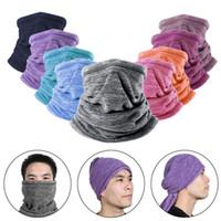 Artudatech cara invierno sombrero snoc ss deportes gaitero bufanda cuello vellón máscara máscara térmica