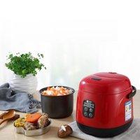 Fogões de arroz 220v mini fogão elétrico inteligente cozinha automática cozinha 1-2 pessoas pequenas eletrodomésticos com tempo