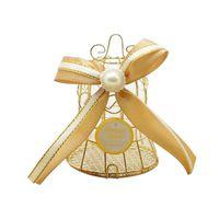 مصغرة الرجعية الطيور قفص مربع الشوكولاته مع الشريط استحمام الطفل لصالح هدية صناديق للضيوف حفل زفاف حفلة تذكارية