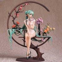 Anime Vocaloid Cheongsam Figuras Sexy PVC Figura Figura Brinquedo Beleza Adulto Estátua Coleção Modelo Boneca Presentes Figuras Meninas Cartoon Brinquedos Q0722