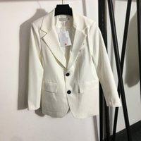 822 l 2021 herfst merk dezelfde stijl jas dames jas jassen flora print lange mouw revers nek zwart wit hoge kwaliteit mode big size meiyi