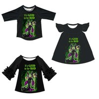 New product stylish baby girl dresses clothes sets wholesale coming kid clothing for Halloween
