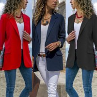 Women's Suits & Blazers Women Elegant Fashion Slim Casual Business Blazer Suit Jacket Coat Outwear