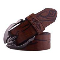 Belts & Women Fashion Belt Mens Casual Waistband Leather Automatic Buckle Waist Strap Beltss Cinturones Para Hombre #955