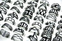 Ecooolin Schmuck Vintage Schwarz Zinklegierung Gypsy Einstellbare Finger Tattoo Ringe Zehenring Lose Für Frauen Männer Masse Schmuck Lots Mix Style PS2002