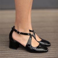 Mio Gusto fait des couleurs bacarines, noires / peaux / rouges, cinq centimètres de talons hauts, chaussures de qualité des femmes 6WUJ