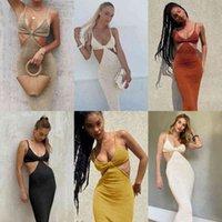 Women Dresses New Sexy Wedding Dress Backless Temperament Elegant Slim Sexy Night Show Zoysia Suspender Skirt