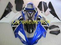 Injection Bodywork Fairings kit for YAMAHA YZF1000R1 YZF R1 2000 2001 fairing kits Cowling YZF-R1 00 01 Hogh Quality ABS Motorcycle Custom Gift Blue White nice