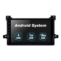 안드로이드 10 스테레오 자동차 DVD 플레이어 Toyota Prius-2016 WiFi 블루투스 음악 USB 미러 링크로 9 인치를위한 멀티미디어 시스템 링크 백미 카메라 1080P 비디오 OBD2