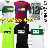 2021 2022 Elche Futebol Jerseys Raúl Guti Lucas Boyé Iván Marcone Fidel Guido Carrillo 21/22 Camisas de Futebol Camisetas Camisetas de Fútbol Enzo Roco Pere Milla