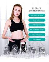 2021 Инструмент повышения груди Горячая вакуумная чашка стола Физиотерапевтическая машина Массаж грудного массажа Cupping Charting Груд