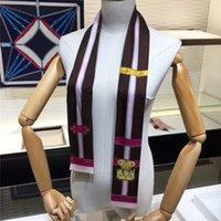Vente chaude Design Womans Bandeau Foulard Marque Foulard de haute qualité Silk Écharpes Classic Womans Bandeau Taille 120x9cm pour femmes KH-55B